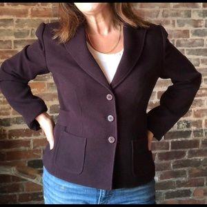 Grace brown blazer with belted back
